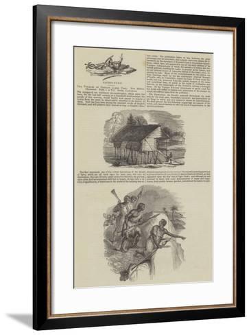The Voyages of Captain James Cook--Framed Art Print