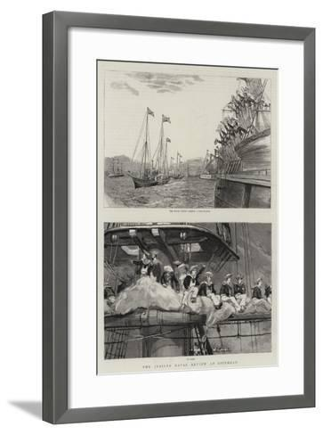 The Jubilee Naval Review at Spithead--Framed Art Print
