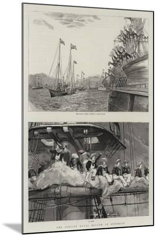 The Jubilee Naval Review at Spithead--Mounted Giclee Print