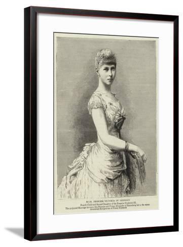 H I H Princess Victoria of Germany--Framed Art Print