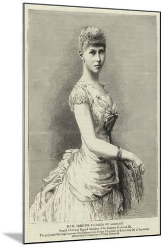 H I H Princess Victoria of Germany--Mounted Giclee Print