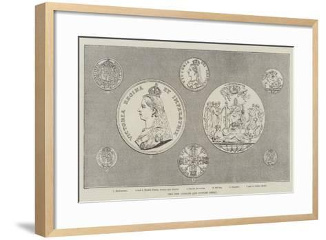 The New Coinage and Jubilee Medal--Framed Art Print