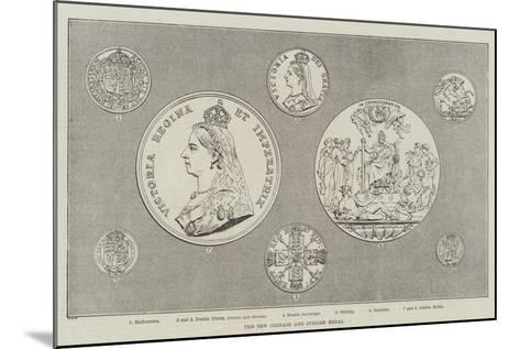 The New Coinage and Jubilee Medal--Mounted Giclee Print