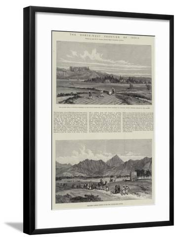 The North-West Frontier of India--Framed Art Print