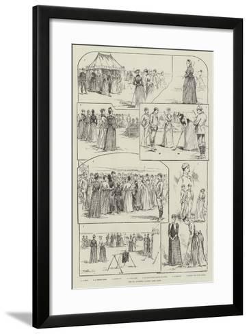 The St Andrews Ladies' Golf Club--Framed Art Print