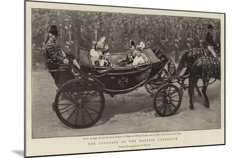 The Carriage of the Empress Frederick--Mounted Giclee Print