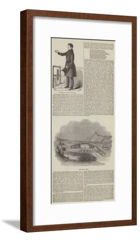 Daniel O'Connell and Derrynane House--Framed Art Print