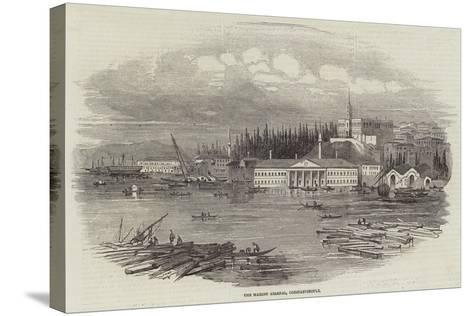 The Marine Arsenal, Constantinople--Stretched Canvas Print