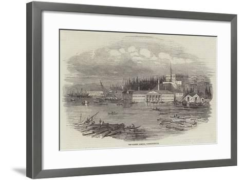 The Marine Arsenal, Constantinople--Framed Art Print