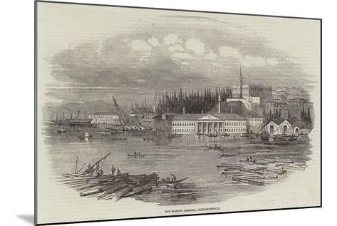 The Marine Arsenal, Constantinople--Mounted Giclee Print