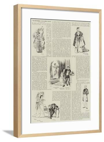 The New Woman, at the Comedy Theatre--Framed Art Print