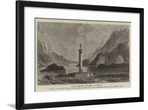 Prince Charles's Monument, Glenfinnan--Framed Art Print