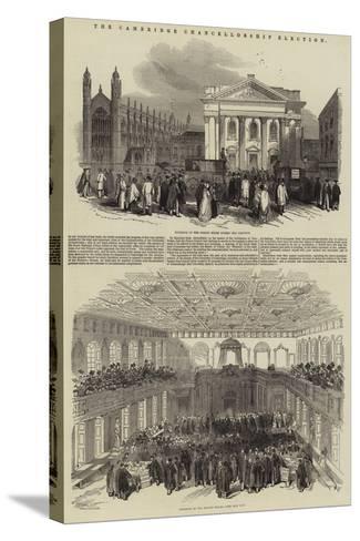 The Cambridge Chancellorship Election--Stretched Canvas Print