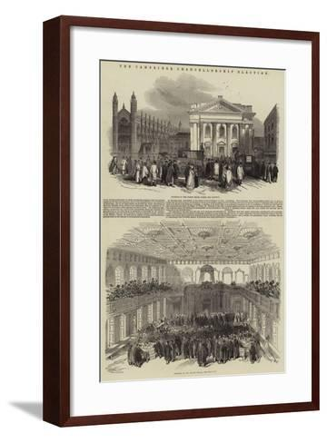 The Cambridge Chancellorship Election--Framed Art Print