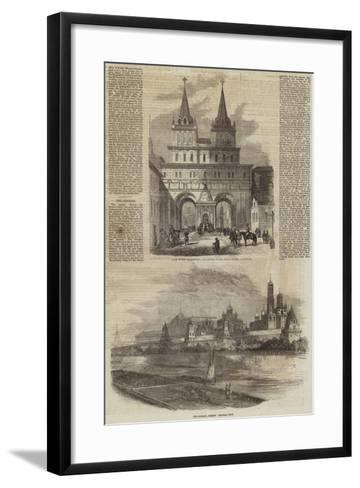 Coronation of the Emperor of Russia--Framed Art Print