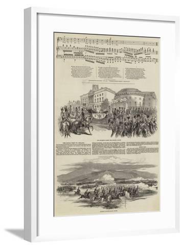 Ireland's Welcome to Queen Victoria--Framed Art Print