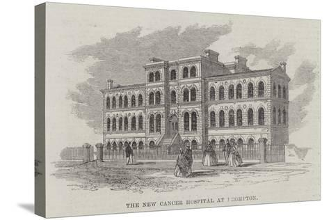 The New Cancer Hospital, Brompton--Stretched Canvas Print