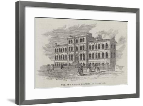 The New Cancer Hospital, Brompton--Framed Art Print