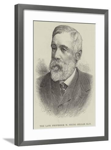 The Late Professor W Young Sellar--Framed Art Print
