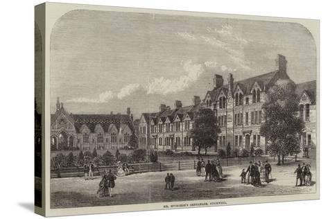 Mr Spurgeon's Orphanage, Stockwell--Stretched Canvas Print