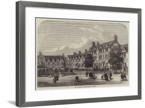 Mr Spurgeon's Orphanage, Stockwell--Framed Art Print