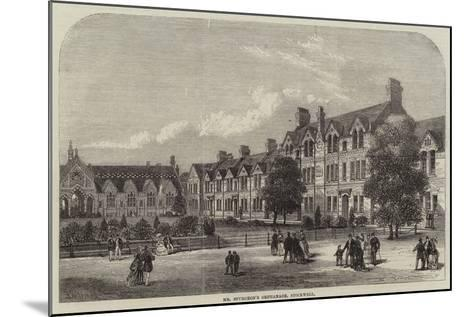 Mr Spurgeon's Orphanage, Stockwell--Mounted Giclee Print