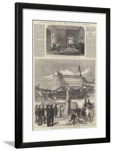 Illustrations of the War in Germany--Framed Art Print