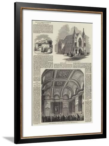 Nooks and Corners of Old England--Framed Art Print