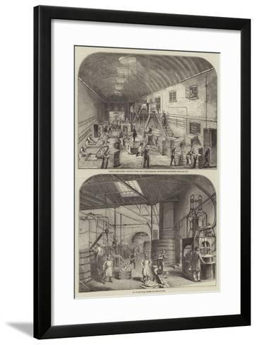 Price's Patent Candle Company's Works--Framed Art Print