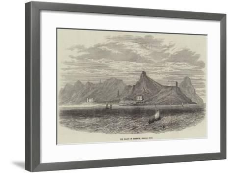 The Island of Karrack, Persian Gulf--Framed Art Print
