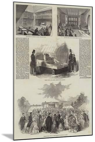 British Association in Cambridge--Mounted Giclee Print