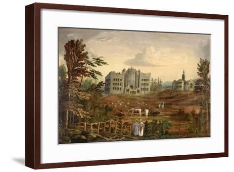 Hylton Castle, Sunderland C.1830--Framed Art Print