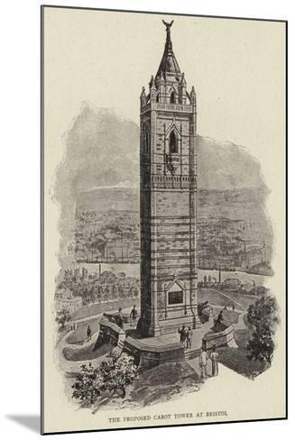 The Proposed Cabot Tower at Bristol--Mounted Giclee Print
