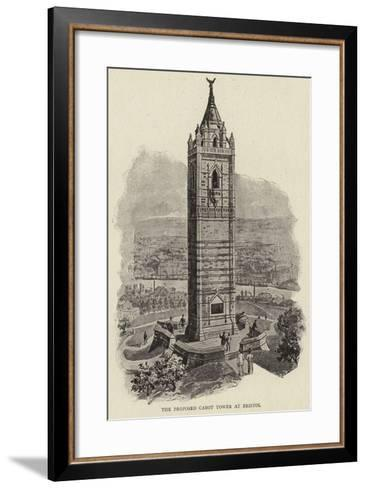 The Proposed Cabot Tower at Bristol--Framed Art Print