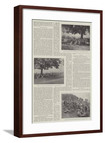 The Volunteer Centenary, 1799-1899--Framed Art Print