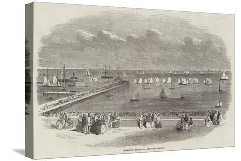 Lowestoft Regatta, the Yawl Match--Stretched Canvas Print