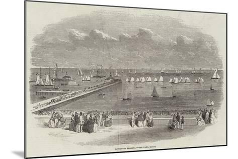 Lowestoft Regatta, the Yawl Match--Mounted Giclee Print