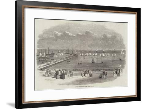 Lowestoft Regatta, the Yawl Match--Framed Art Print