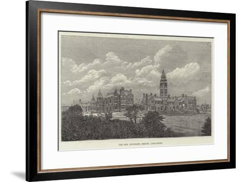The New Infirmary, Bolton, Lancashire--Framed Art Print