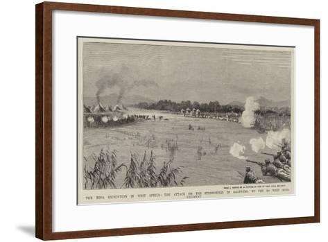 The Sofa Expedition in West Africa--Framed Art Print