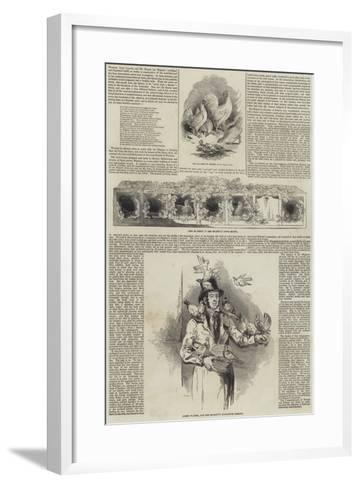 The Queen's Poultry at Windsor--Framed Art Print
