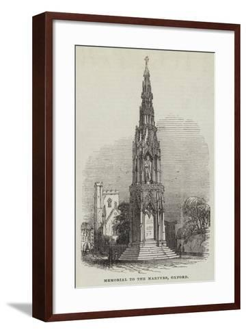 Memorial to the Martyrs, Oxford--Framed Art Print
