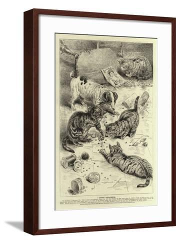 Advertisment, Beecham's Pills--Framed Art Print