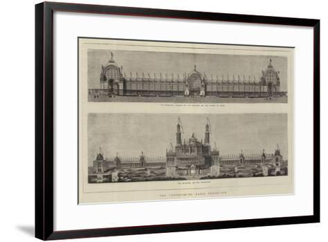 The Forthcoming Paris Exhibition--Framed Art Print