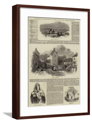 Sketches in the West of Ireland--Framed Art Print
