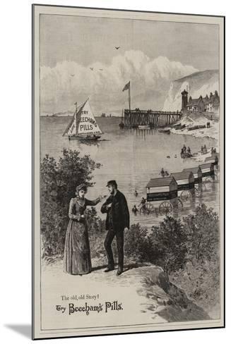 Advertisement, Beecham's Pills--Mounted Giclee Print