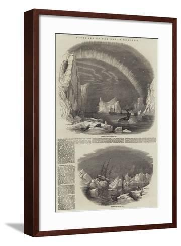 Pictures of the Polar Regions--Framed Art Print