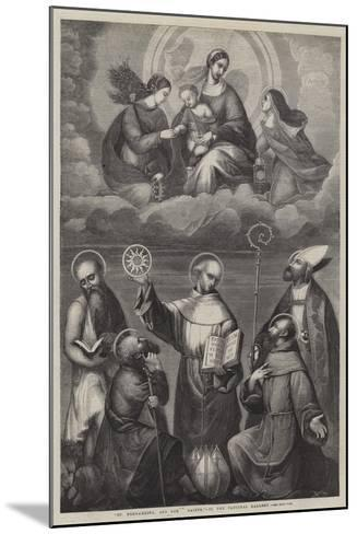 St Bernardino, and Other Saints--Mounted Giclee Print