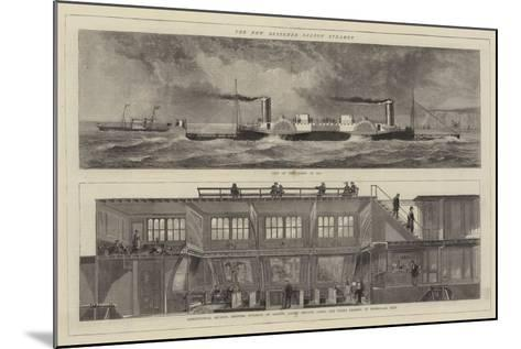 The New Bessember Saloon Steamer--Mounted Giclee Print