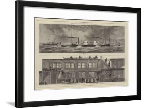 The New Bessember Saloon Steamer--Framed Art Print